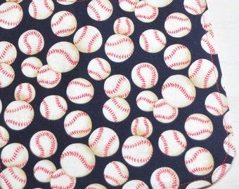 Baseball Bib - Baby Bib - Baby Boy Bib - Red Bib - Bib for Boys - Baby Gift - Sports Bib - Shower Gift - Reversible Bib - Boy Bib - Handmade