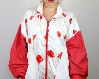 ELEGANCE Vintage 80's Soft Shell Jacket / Windbreaker