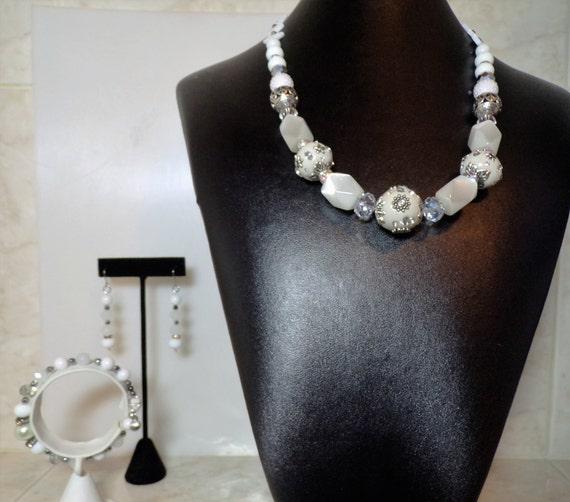 Winterwhite jewelry suite