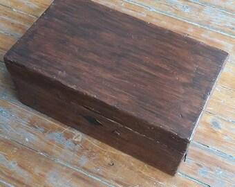 Revamped Vintage Wooden Box