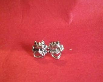 Comedy Tragedy mask cufflinks