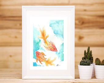 Goldfish Artwork