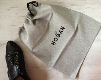 Linen shoe bag Hogan vintage