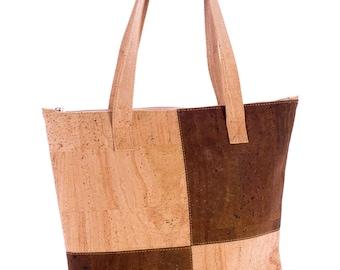Cork shopper, tote