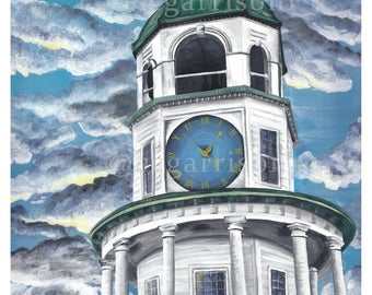 Halifax Citadel Clock Tower - 8x10 Print Giclee