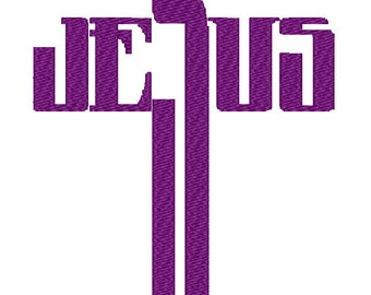 Machine Embroidery Design Cross Embroidery Design Inspirational Machine Embroidery Christian Embroidery Design 3 sizes Jesus Cross