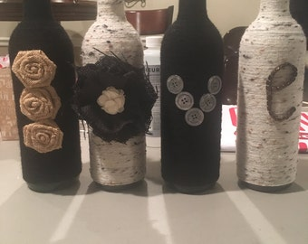 LOVE Wine Bottles