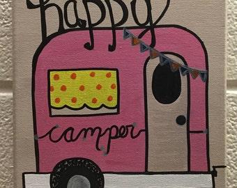 Happy Camper (Pink)