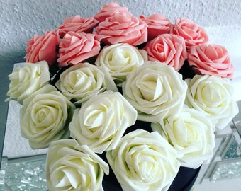 Artificial Flowers,Wedding Flower Bouquet,Flower Wreath,Fake Flowers,Wedding Decorations,Foam Flowers,Roses,10Pcs,Free Shipping WorldWide