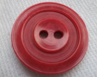 13 buttons red 18mm (177) jacket buttons
