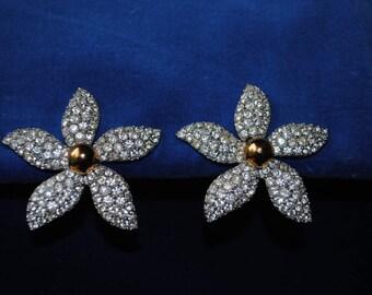 Earrings (clips) Yves st Laurent