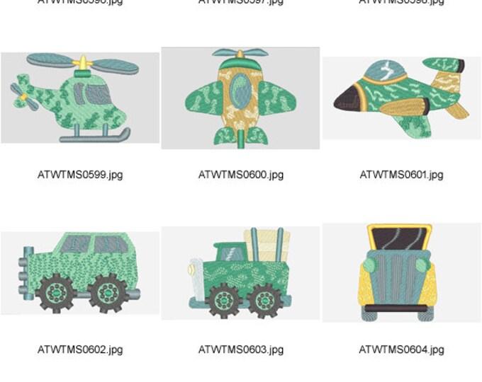 Safari ( 10 Machine Embroidery Designs from ATW )