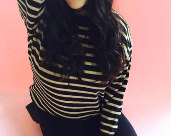 Vintage 90s Striped Sweater