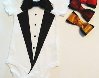Baby tuxedo, Baby set, Baby onesies, Body of baby, tuxedo, Baby outfit, Stylish onesies, Suit