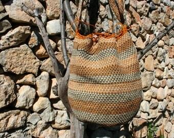 Beautiful large beach bag | Maguey Fiber | Crossbody bag | Summer festival | Unique | School | Women Gift | Colorful