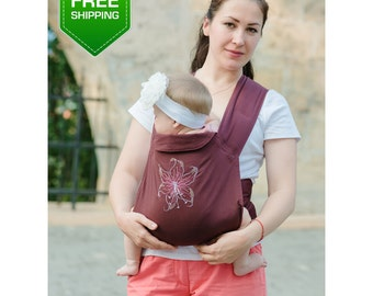 Mei Tai Baby Carrier, Baby Sling Pack, Baby Sling, Mei Tai, Baby Carrier, Toddler Carrier, Sling Wrap