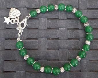Green Jade bracelet