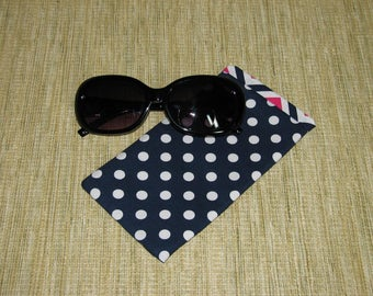 Eyeglasses case, Glasses case soft, soft phone case, glasses holder, eyeglass holder, sunglasses case, glasses sleeve, woman glasses case