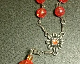 Catholic car or pocket rosary - handmade