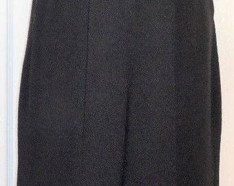 Vintage St John Black Santana Knit Sleeveless Jumpsuit - S/M