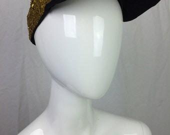 Gold Sequin Baseball Cap Allover Sequined Design Club Kid Trucker Hat 90s Hat