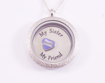Big Sister, Big Sister Gift, Gifts for Sister, Unique Gifts for Sisters, Sister Birthday Gift, Sister Jewelry, Sister Necklace, Gift for Her