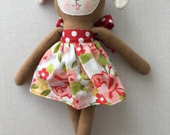 "PumpernickelPlum Puppy Dog Doll ""Lucy"" - Girl"