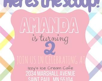 Here's The Scoop Ice Cream Birthday Party