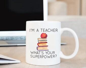 I'm A Teacher Mug, Teacher Mug, Teacher Gift, Professor Gift, Teacher Appreciation, Teacher Appreciation Gift, Back to School, Teaching Gift