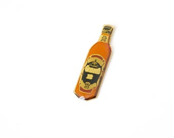 GRANT'S Bottle - Vintage enamel pin Brooch Badge