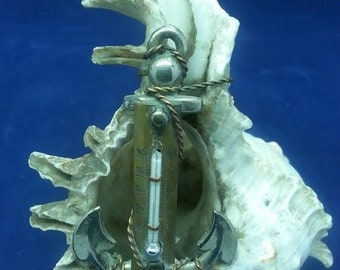 Thermometer Shell & Nautical Victorian and Edwardian Period