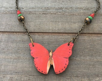 Natural Whimsy Collection: Butterfly Necklace
