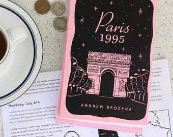 Paris 1995 Zine - Travel Stories -