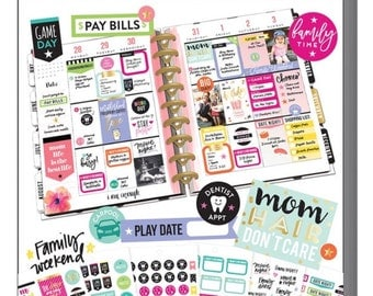 The Happy Planner Sticker Value Pack - Mom Life