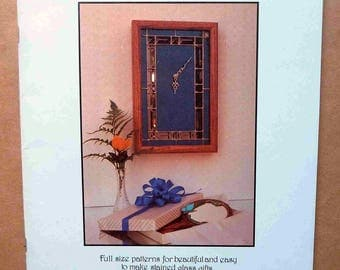 Stained Glass Patterns - Gracious Giving - Stained Glass Gifts - Stained Glass Designs - Stained Glass Projects - 1986