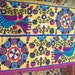 Big Sale!!! Vintage UZBEK SUZANI Handmade silk Embroidery on silk fabric (220 x 120 cm 87 х47 inch)