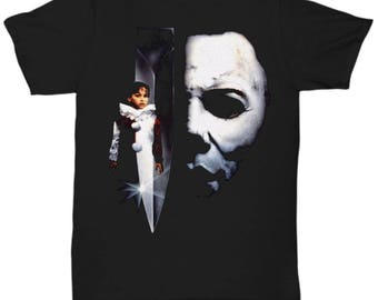 HALLOWEEN MICHAEL MYERS John Carpenter Classic Horror Movie shirt Tee T-shirt  S - 5XL  Black 5