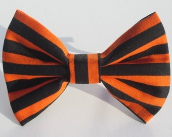 Orange and Black Stripes- All Sizes
