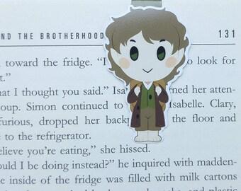 Hobbit - magnetische Lesezeichen - Tolkien || Herr der Ringe | Buch-Liebhaber Geschenke | Lesezeichen | Bücherwurm | Lesezeichen | Herr der Ringe | magnetische Lesezeichen