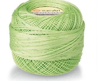 YarnArt CANARIAS cotton yarn crochet cotton yarn soft yarn spring yarn summer yarn color choice hand knit yarn Mercerized Cotton
