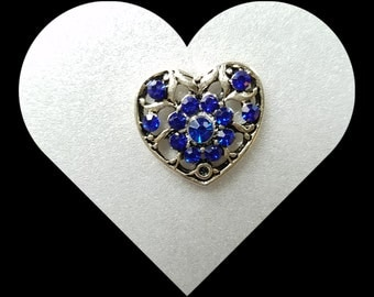 Snap Charms for regular Noosa or Ginger Snaps Jewelry and other brand Snap Jewelry. Snaps 20mm Clear Rhinestones