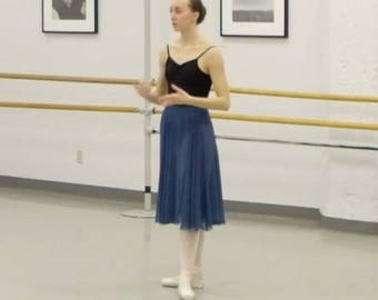 The Ballet Rehearsal Skirt - Choose your color