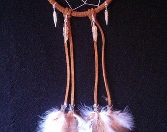 Autumn Feather Dreamcatcher
