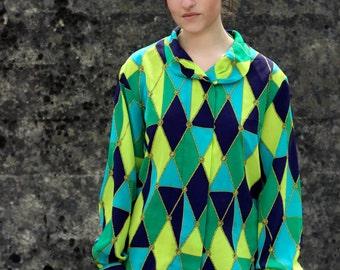 Jacques Vert Vintage Silk Shirt