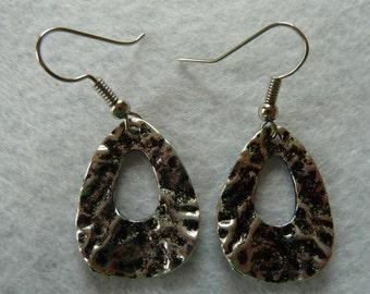 Earrings Silver-Black