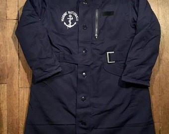 Army: Jacket long double stuffed