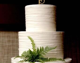 Happy 30th Birthday Cake topper . Gold Cake Topper.Birthday Cake Topper.