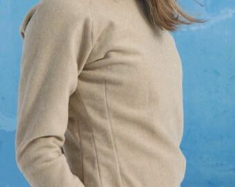 Beige Woolen Sweater