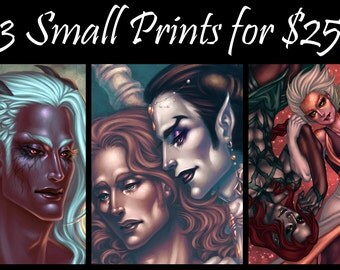 Discount Package - 3 Small Prints