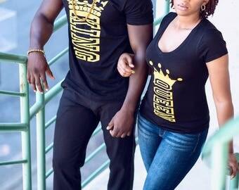 Crown Queen Printed  T-Shirt